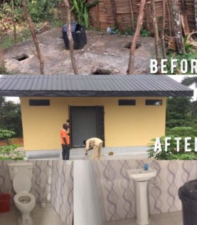 Toilet / Sanitary Building Construction at Ikot Etenge Primary School – Completed July 3, 2017